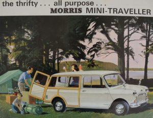 Morris Mini Traveller Period brochure advertising