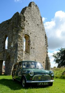 The Mini range was 'classless' and the Traveller fitted in anywhere
