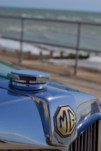 The octagon shape is featured across the Y Type starting with the radiator cap and badge