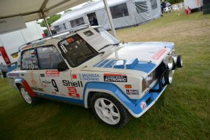 This Lada VFTS rally car saw action in Hungary before being restored in 2007