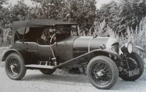 Tim Birkin's 3 litre Bentley he raced with brother Archie