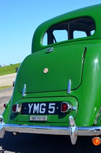 University Motors supplied new Y Types with a special number plate confirming what is was and where it came from