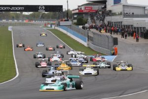 The HSCC F2 field at Donington Park