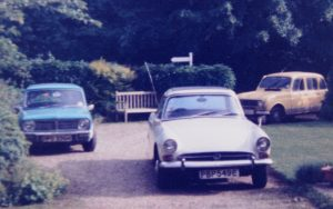 In the 70s other marques joined the family including a Renault 4 and Mini Clubman, for Lewis the Alpine remained king