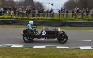 1911 Targa Florio SCAT Type C Racer driven by Andrew Howe-Davies at the 2016 Goodwood Members Meeting