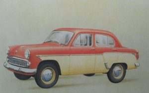 More than a Hint of Hillman the 407 put Moskvitch on the world stage thanks to Opel and the Red Army