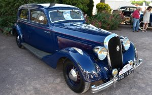 The luxury pre-war French Hotchkiss 20CV of 1936 powered by the 686 engine that served the marque so well