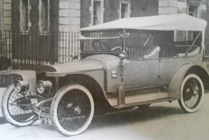 Final listed production model from Thornycroft the 18HP Tourer from 1912