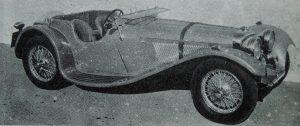 1937 SS100 2.5 litre