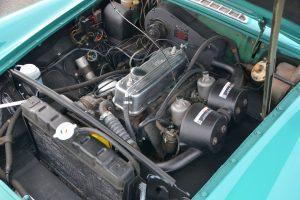 1972 MGB GT engine