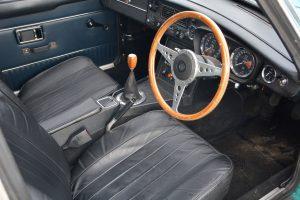 1972 MGB GT interior