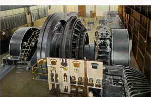 Producing 6,000hp, the gas-steam engines within the power house supplied electricity 24/7 designed specifically for the plant, by 1917 there were seven but Highland would eventually have nine