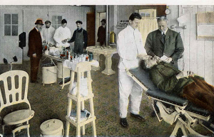 Workers health mattered to keep production at its maximum and their wages were dependant on clean living, a hospital at Highland dealt with emergencies as well as general and dental well-being