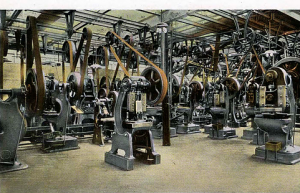 Small parts were supplied by the pressed steel department creating items such as fenders, lights and radiator caps, all subject to slight changes over the years.