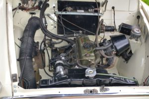 1968 Morris Minor Traveller engine