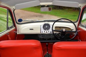 1968 Morris Minor Traveller interior