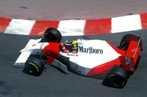 1993 McLaren-Ford MP4-8A Formula 1 racing single-seater