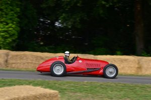 Alfa's 308C this car set a lap record at Pau GP on its debut with Nuvolari at the wheel