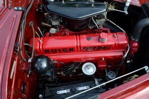 Buick's Compound Carbs utilised the front only up to 50mph, higher speeds or hard acceleration introduced the rear unit