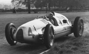 Donnington Park 1938 in the Auto Union Type D