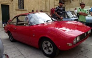 Moretti took the Fiat 124 in 1966 and produced their lovely Coupe version
