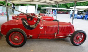 Nuvolari achieved the Maserati 8CM's at the Belgian GP 1933 starting from the back of the grid