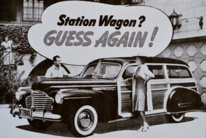 Think Again it's the Series 40B Special Model 49 Estate Wagon no less
