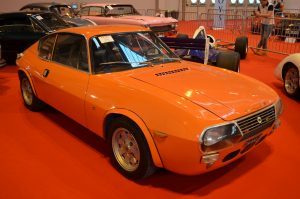 A coupe version of the Fulvia HF arrived in the form of a Zagato Coupe in the late 60s, built in limited numbers these have become very desirable collector cars
