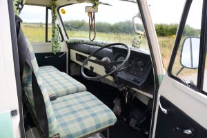 Commer PB Campervan interior