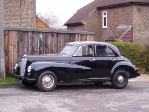 Dressed in black when the Morris arrived with Steve it offered parts potential only, or three years' work