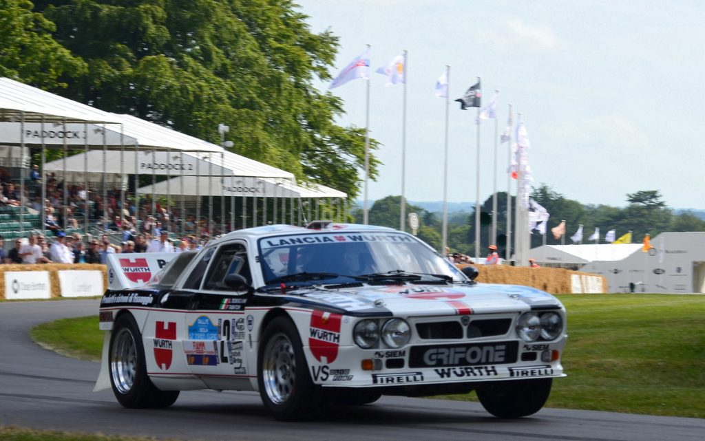The 037 Group B rally car was based on the Lancia Montecarlo and replaced the Stratos winning the manufacturers title in 1983 being the last RWD car to do so