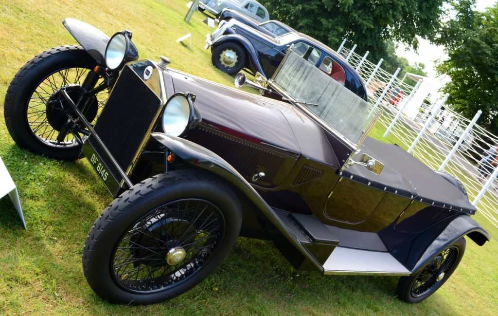 The first of nine series this Lambda Series 1 Torpedo Tourer from 1923 launched the monocoque design long before it became the norm