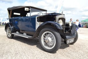 1920's Le Zebra sought the talents of Harry Ricardo this Z10 was restored by Ricardo's