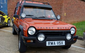 Rancho featured three rows of seats, available 1977-84 few remain on UK roads