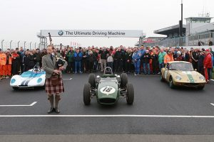 500 people remembered Jim Clark at Donington Park