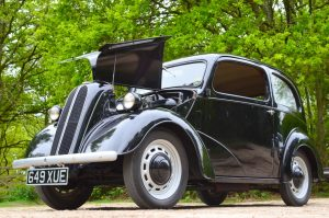 Dated maybe but a great looking car so treasured by 'Hot Rodders' few remain in standard format