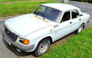 GAZ Volga - If its good enough to be in a Bond movie…its good enough for me