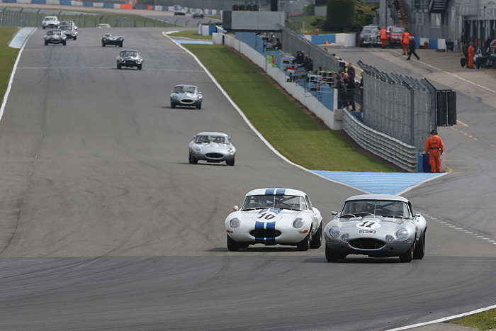 The 2018 Jaguar Classic Challenge will start at the Donington Historic Festival