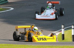 Historic Formula Ford 2000 features at Cadwell Park