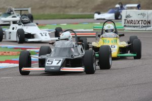 Period single-seaters will contest the 'Spirit of Thruxton' races