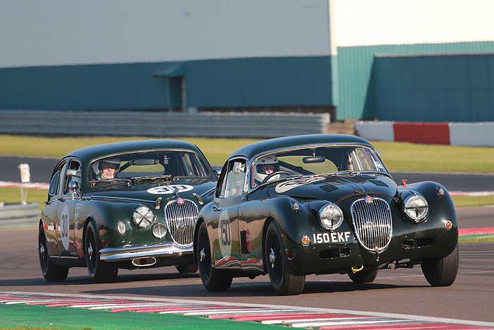 The 2018 Jaguar Classic Challenge started at the Donington Historic Festival