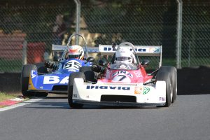 Classic F3 racers, including Richard Trott, will feature at Brands