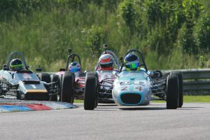 Historic Formula Ford thrilled the Thruxton fans