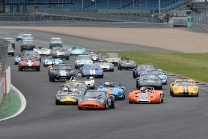 The Guards Trophy pack heads into Copse