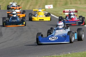 Formula Ford 2000 is prominent at Croft