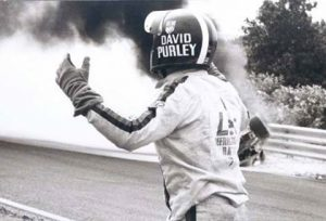 Total desperation as Purley looks to circuit officials and help releasing Roger Williamson from the burning wreckage