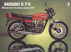 1978 Suzuki 250 X7E