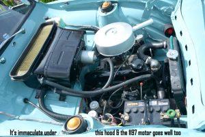 Anglia 1200 engine