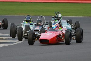 Cameron Jackson won the Historic Formula Ford title