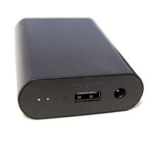 Keis 2600mAh rechargeable portable battery pack